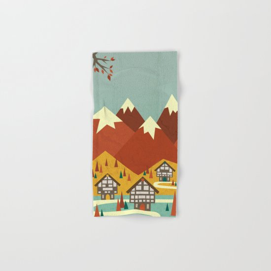 Switzerland Hand & Bath Towel