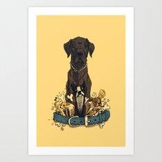 Dogs1 Art Print
