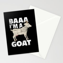 Goat Costume Stationery Cards