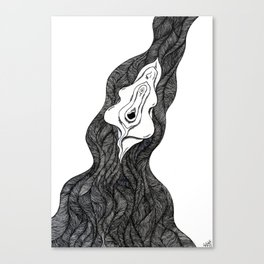 PUBES Canvas Print