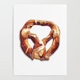German Soft Pretzel Poster