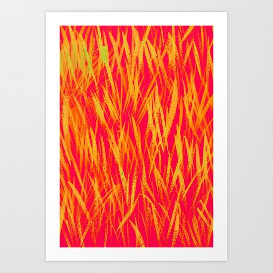 GLEAMING- SUMMER DAY Art Print