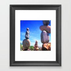 Rocks! Framed Art Print