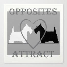 Scotty Dogs  Canvas Print