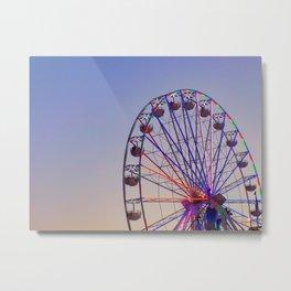 Wheel of Fun Metal Print
