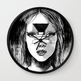 Beyond the Shadows Wall Clock