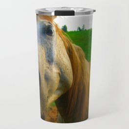 ginger horse Travel Mug