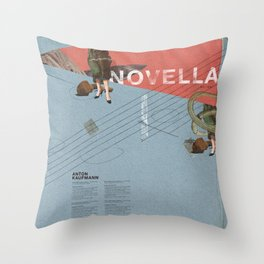 Novella- Mixed media Throw Pillow
