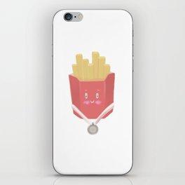 cute french fries iPhone Skin