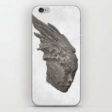 Stone Angel iPhone & iPod Skin