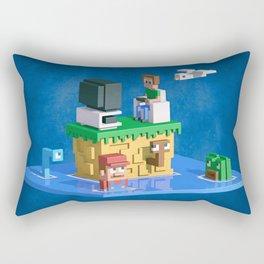 Retromania Rectangular Pillow