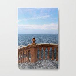 The Ringling Overlooking Sarasota Bay II Metal Print
