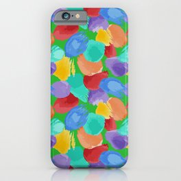 Blobs Pattern iPhone Case