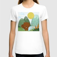 beaver T-shirts featuring little beaver by Proyecto Melón
