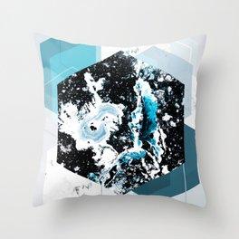 Geometric Textures 4 Throw Pillow