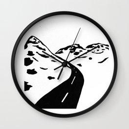 Oldy Road Wall Clock