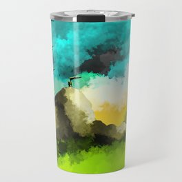 Mountain Peeks Travel Mug