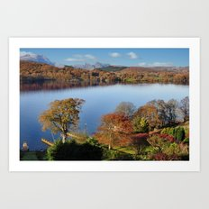 Spring at Windermere Art Print