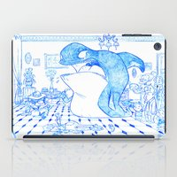 killer whale iPad Cases featuring Killer Whale by Tayfun Sezer