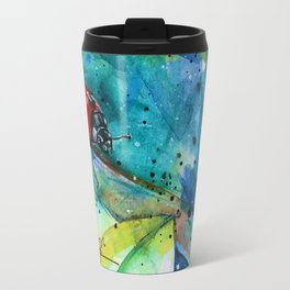 Ladybug - by Kathy Morton Stanion Travel Mug