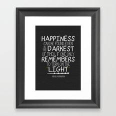 Dumbleism - Dumbledore Quote 2 Framed Art Print