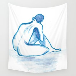 So Blue Wall Tapestry