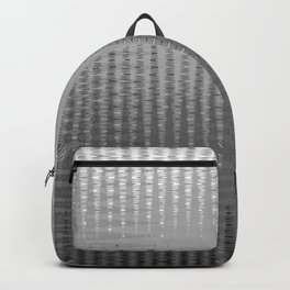 Waves in Black and White Backpack