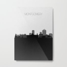 City Skylines: Montgomery Metal Print