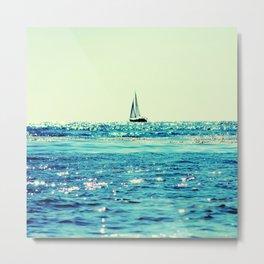 Sailin' Metal Print