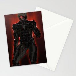 UNPLUG - Red Stationery Cards