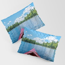 Just Keep Paddling Pillow Sham