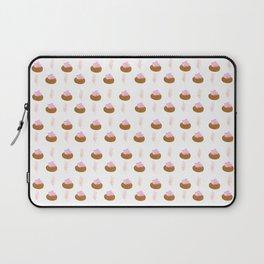 Ice Gems Pattern in Pink Laptop Sleeve
