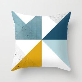 Modern Geometric 18 Throw Pillow