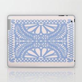 Fiesta de Flores Serenity Blue Laptop & iPad Skin