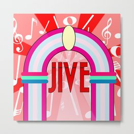 Jukebox Metal Print