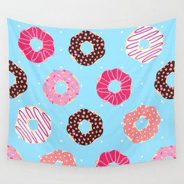 Sequence 49 - Donuts Wall Tapestry