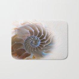 Natural spiral Bath Mat