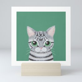American Shorthair Mini Art Print