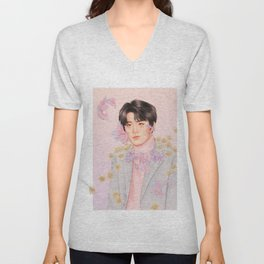 technicolor [jeno nct] Unisex V-Neck
