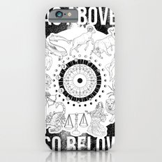 As Above, So Below - Zodiac Illustration Slim Case iPhone 6s