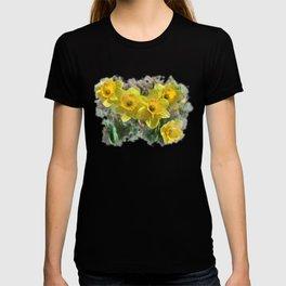 Watercolor Daffodils T-shirt