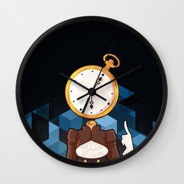 BRAINWAVES: STOP THE CLOCK Wall Clock