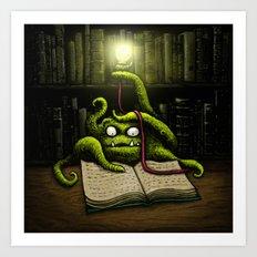 Octobook Art Print