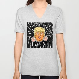Short-Fingered Vulgarian Unisex V-Neck