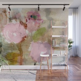 Abstract flores Wall Mural