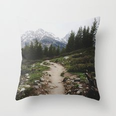 Teton Trail Throw Pillow