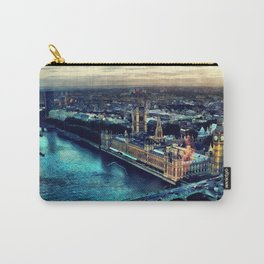 London watercolor Carry-All Pouch