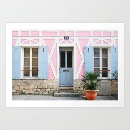 19. Rue Crémieux, Paris Art Print