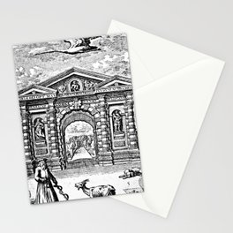 Great Gate of the Physic Garden Stationery Cards