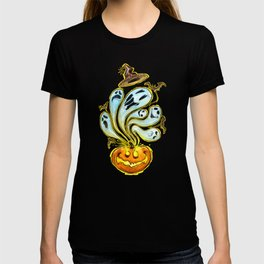 Pumpkins, ghosts and some bat T-shirt